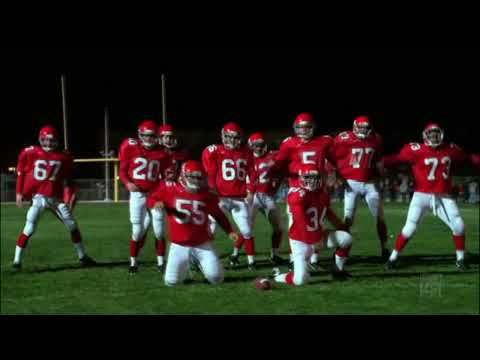 Glee - Football Team Single Ladies HD (видео)