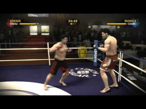 EA Sports MMA 2 Xbox 360