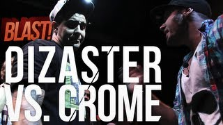 The O-Zone Battles | Dizaster vs. Crome