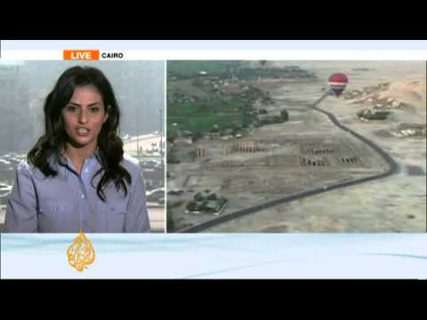 Tourists die in Egypt hot-air balloon crash