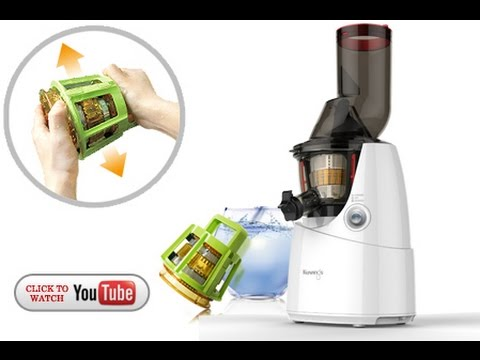 Kuvings Silent Juicer Easy Clean Up