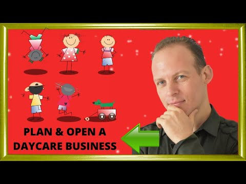 How to write a daycare business plan and start a home daycare center