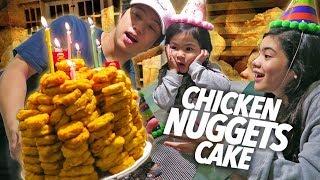 Video Chicken Nuggets Cake Birthday Surprise!! | Ranz and Niana MP3, 3GP, MP4, WEBM, AVI, FLV Mei 2019