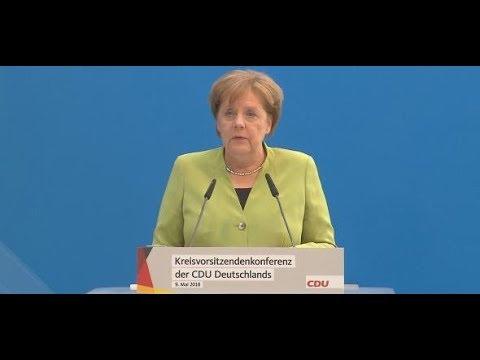"""Merkel zum Iran-Deal: """"Wir fühlen uns dem Abkommen  ..."""