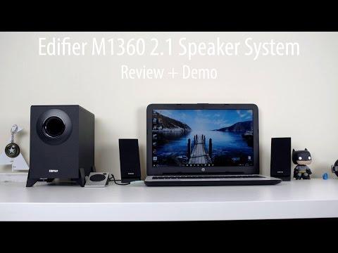 Edifier M1360 2.1 Speaker System Review + Demo