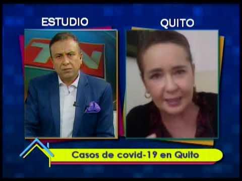 Casos de covid-19 en Quito