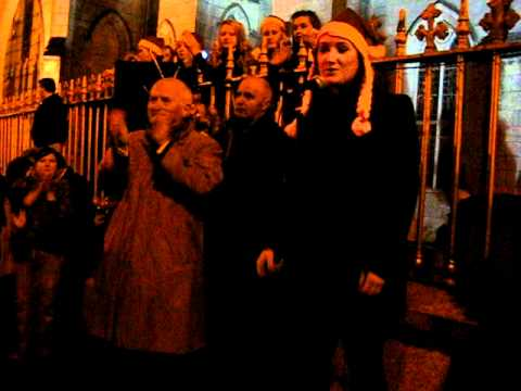 Buttevant - Buttevant Christmas Lights Official Switching On Of Christmas Trees.