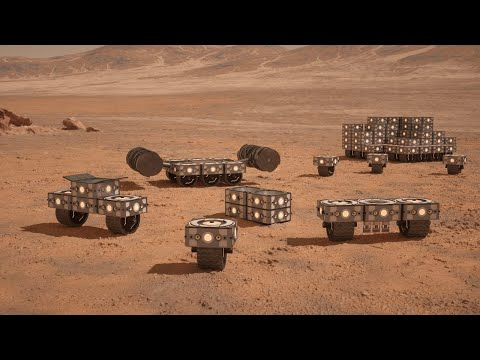 This Is How Scientists Are Planning to Build … on Mars!