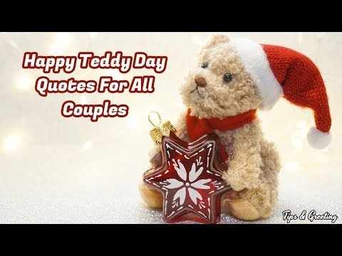 Happy quotes - Happy Teddy Day Quotes For All Couples  Beautiful Quotes For Loves