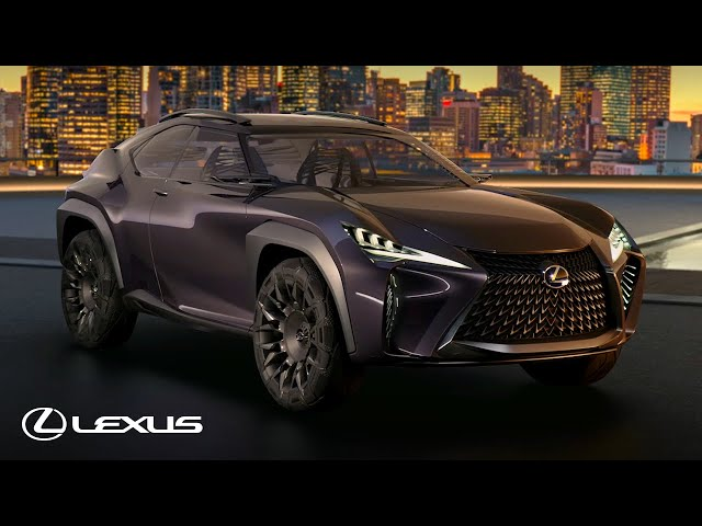 Lexus UX Concept - Video Tour
