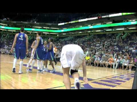 Liberty at Mercury brawl 2010: Cappie Pondexter ejected vs. Diana Taurasi and Penny Taylor