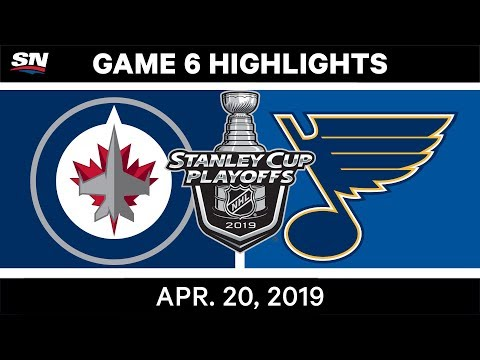 NHL Highlights | Jets Vs. Blues, Game 6 – April 20, 2019
