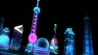 Animation promo for the Beijing Olympics 2008