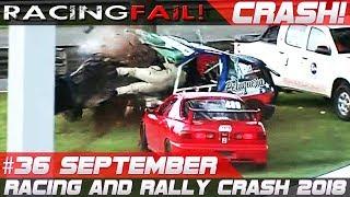 Video Racing and Rally Crash   Fails of the Week 36 September 2018 MP3, 3GP, MP4, WEBM, AVI, FLV September 2018