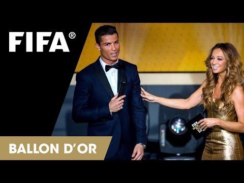 Видео вручения 'Золотого мяча'