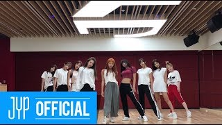 "Video TWICE ""Dance The Night Away"" Dance Video (NEW JYP Practice Room Ver.) MP3, 3GP, MP4, WEBM, AVI, FLV September 2018"