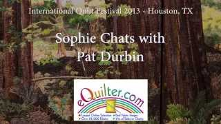 Sophie Visits with Pat Durbin