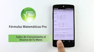 Fórmulas Matemáticas YouTube video