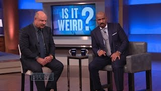 Video Is It Weird?: You can't keep eating that! || STEVE HARVEY MP3, 3GP, MP4, WEBM, AVI, FLV April 2019