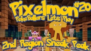 Pixelmon Server Minecraft Pokemon Mod Pokeballers Lets Play! Ep 20 - 2nd Region Sneak Peek!