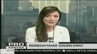 MARWAH DAUD Tak Berkutik Dialog Dengan Kyai CHOLIL NAFIS - Geger Dimas Kanjeng Taat Pribadi.