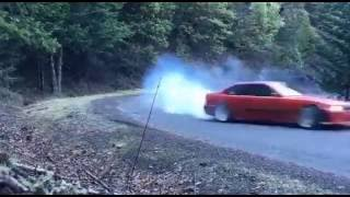 BMW E36 owner drifting and running from redneck with truck ! #TrollE36Clip by : Mika (@Strangere36 on Instagram!)
