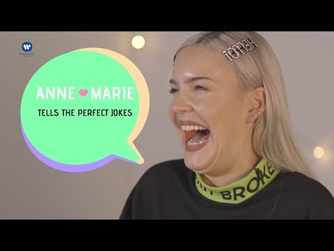 Anne-Marie tells the Perfect jokes!