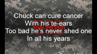 US. Army Jrotc:  the bearded ninja  Chuck Norris Cadence