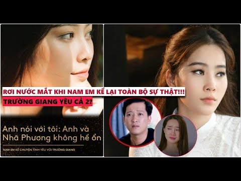 Trường Giang,Nhã Phương,hoa hậu Nam Em…Tất cả chỉ là một màn kịch tạo scandal???