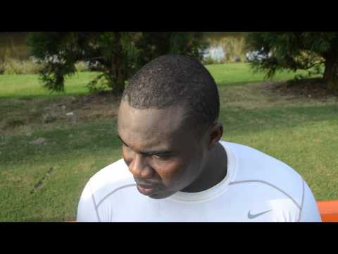 Grady Jarrett Interview 8/22/2013 video.