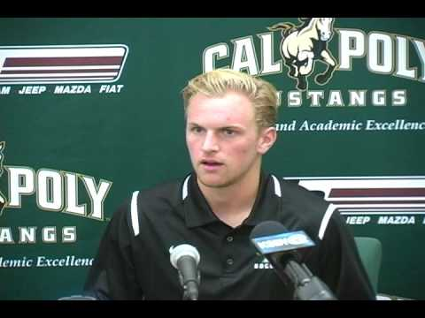 Cal Poly Senior Midfielder Matt Lagrassa