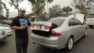Autoline's 2008 Acura TSX Walk Around Review Test Drive