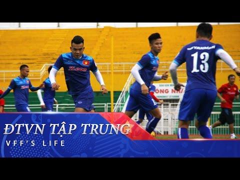 ĐTVN CÓ BUỔI TẬP ĐẦU TIÊN CHUẨN BỊ CHO AFF CUP 2016