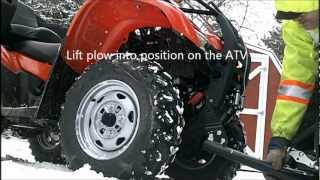 6. Install & Removal of a WARN PROVANTAGE Plow System on a Honda Rancher TRX420FMD
