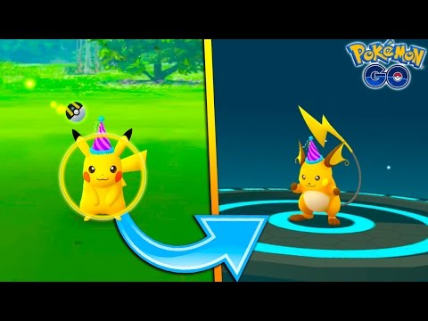 HOW TO GET A SPECIAL EDITION PIKACHU & RAICHU IN POKEMON GO! New Pokemon GO Event + Q&A #1
