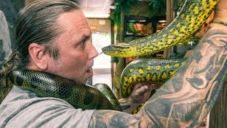 UNDERSTANDING MY PET ANACONDA!! HOW NOT TO GET HURT!! | BRIAN BARCZYK by Brian Barczyk