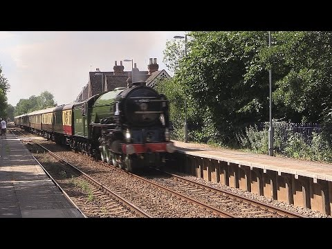60163 Tornado at Worplesdon and Chilworth with The Belmon...