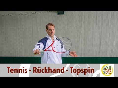 Rückhand Topspin Einhändig No.1 - Tennis Technik - HD