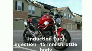 2. 2010 Ducati Monster 696 ABS -  motorbike Engine - Motorcycle Specs