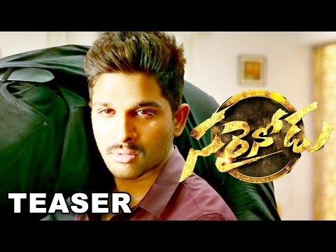 Allu Arjun's Sarrainodu Movie  Teaser    Tollywood Telugu Latest Movie 2016