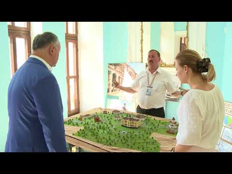 Igor Dodon a vizitat complexul istorico-cultural din Hîncești – Conacul lui Manuc Bey