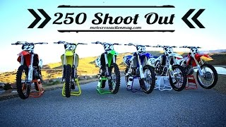 8. Motocross Action's 2016 250F Shoot Out