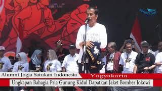 Video Jokowi Lempar Jaket - Begini Ungkapan Pria Asal Gunungkidul Dapat Jaket Bomber Jokowi MP3, 3GP, MP4, WEBM, AVI, FLV Maret 2019