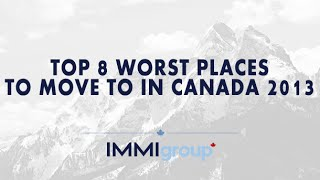 Waterloo (ON) Canada  city pictures gallery : TOP 8 WORST PLACES TO MOVE IN CANADA (2013)