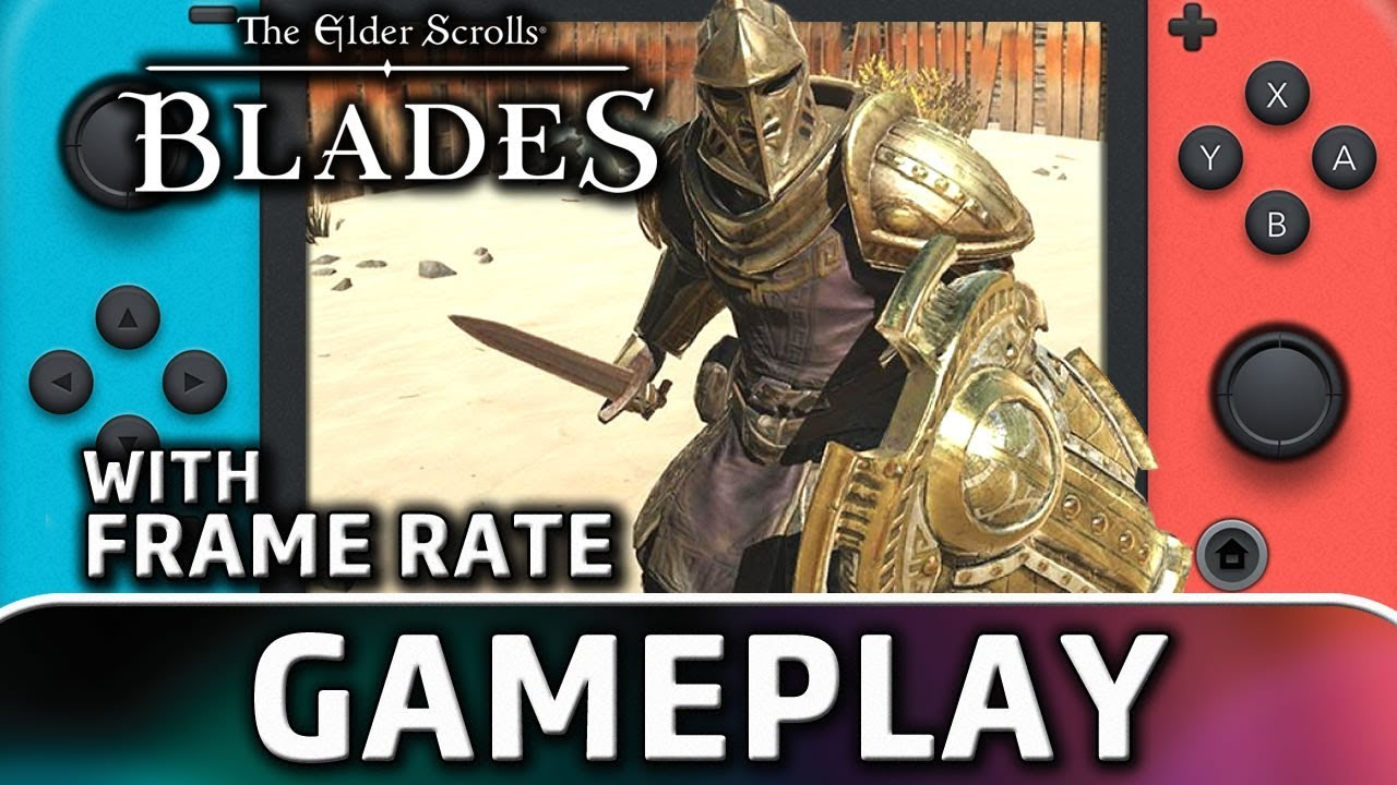 The Elder Scrolls: Blades   Nintendo Switch Gameplay and Frame Rate