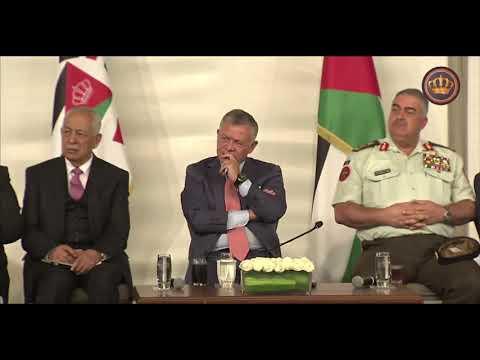 لقاء جلالة الملك عبدالله الثاني بن الحسين مع المتقاعدين العسكريين