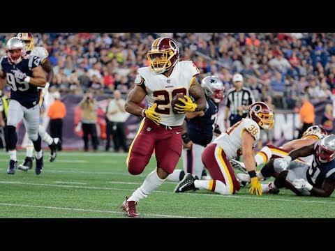 Derrius Guice Breaks Off 34-Yard Run ᴴᴰ | Redskins Preseason Week 1