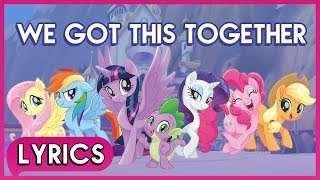Download Lagu Mane 6 & Spike - We Got This Togethers) - My Little Pony: The Movie [HD] Mp3