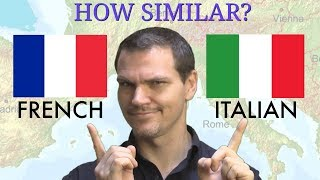 How Similar Are French and Italian? (UPDATED)