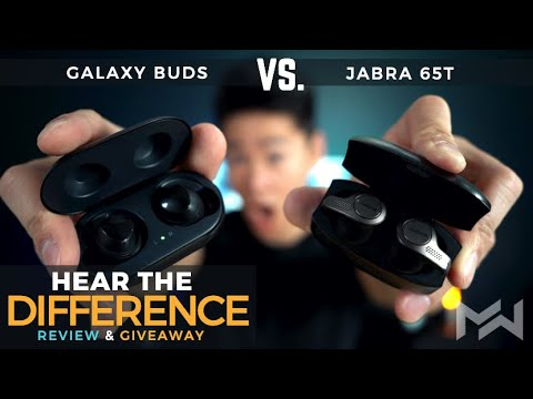 Galaxy Buds Vs Jabra Elite 65t True Wireless Earbuds Review - The Ultimate Comparison!